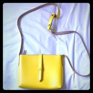 JCrew Yellow Parker Crossbody